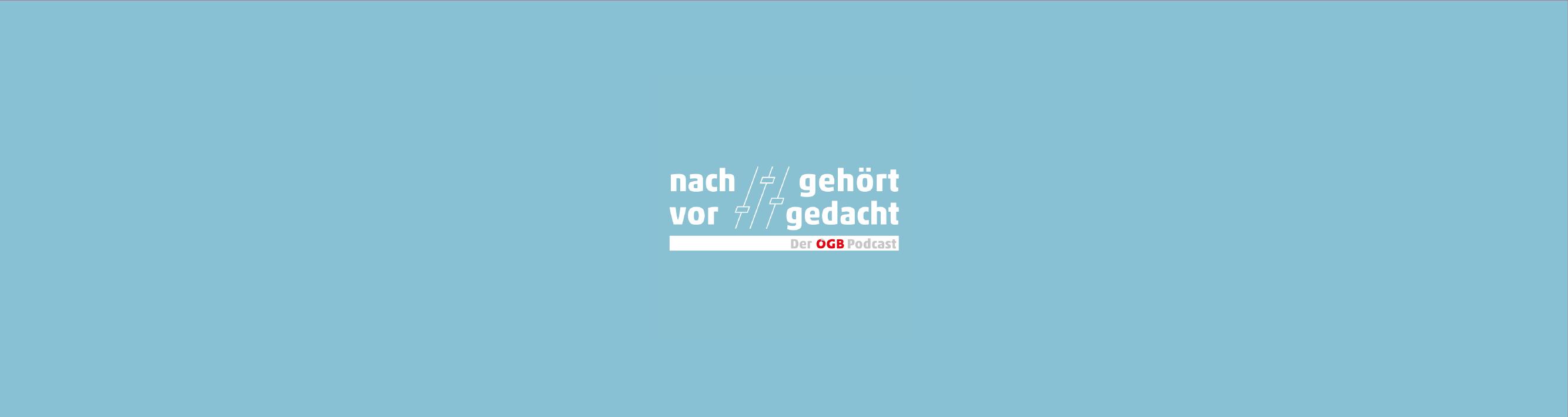 Podcast Banner - Nachgehört / Vorgedacht