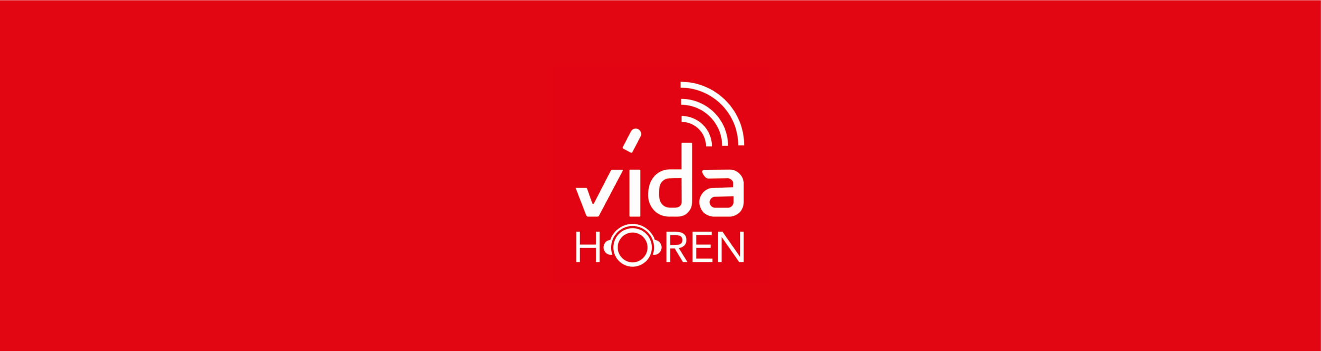 Podcast Banner - vidaHören